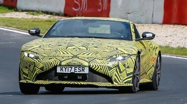 Aston Martin Vantage spy shot