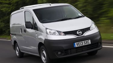 The nissan NV200 van.