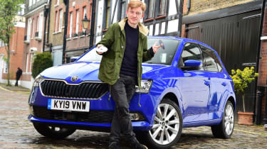 Skoda Fabia SE L: long-term test review - first report header