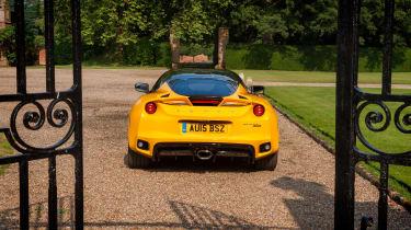 Lotus Evora 400 rear static