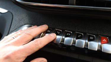 Peugeot 3008 long-term test - buttons
