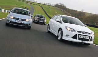 Ford Focus Zetec S vs rivals