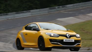 Renault Megane Renaultsport 275 Trophy front