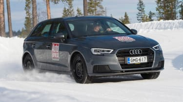 2017/18 winter tyre test - Audi front
