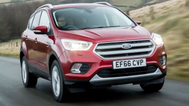 Ford Kuga 2017 - Front Tracking