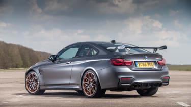 BMW M4 GTS UK 2016 - rear quarter