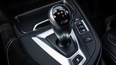 BMW M3 CS - gear lever
