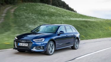 Audi A4 Avant 2019 front tracking