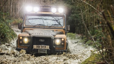 Land Rover Defender Works V8 Trophy - wading