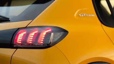 Peugeot 208 - rear detail