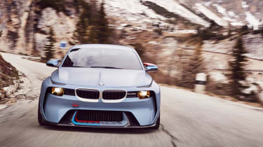 BMW 2002 Hommage - front