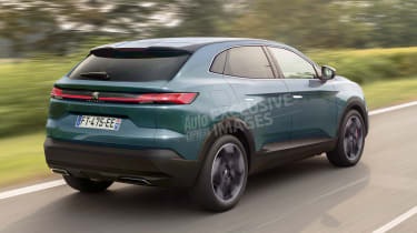 Peugeot 4008 - rear (watermarked)