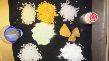 Powders and chemicals