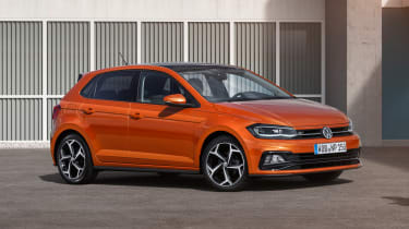 New Volkswagen Polo R-Line - front