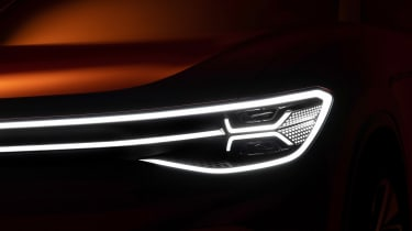 Volkswagen ID. Roomzz - front light dark