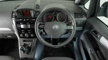 Used Vauxhall Zafira - dash