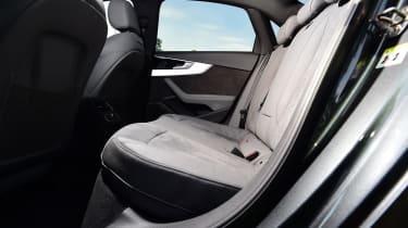 Audi A4 - rear seats