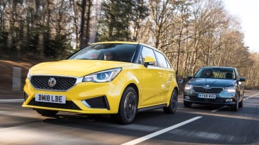 MG3 vs Skoda Fabia - header