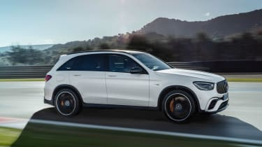 Mercedes-AMG GLC 63 - side action