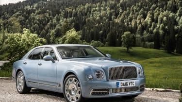 Bentley Mulsanne 2016 - front three quarter