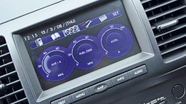 Subaru screen