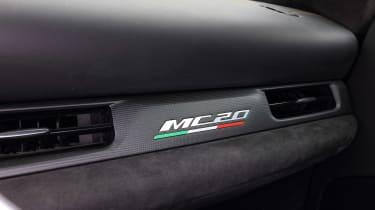 Maserati MC20 - MC20 badge
