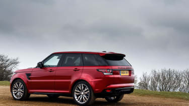 Range Rover Sport SVR - rear static