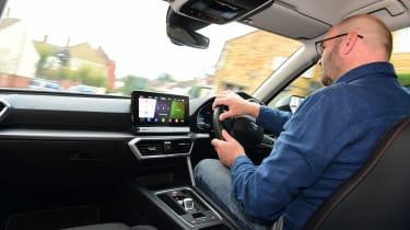 SEAT Leon e-Hybrid long termer - first report Darren Wilson