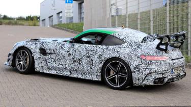 Mercedes AMG GT R Black Series - rear 3/4 tracking spy
