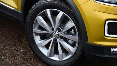 Volkswagen T-Roc - wheel