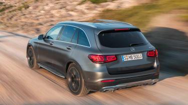 Mercedes GLC - rear off-road