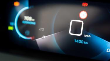 Peugeot 208 - dials detail