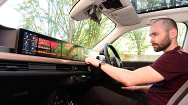 Honda e long termer first report interior