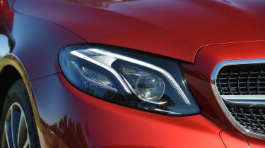 Mercedes E-Class Coupe - E 220d headlight