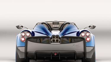 Pagani Huayra Roadster 2017 - studio rear