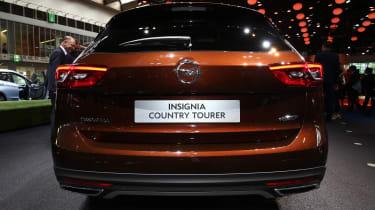 Frankfurt - Vauxhall Insignia Country Tourer - boot