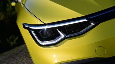 Volkswagen Golf Mk8 - headlights
