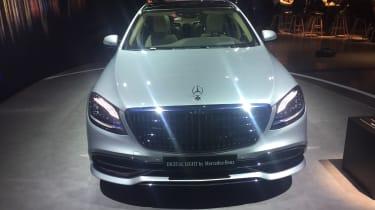 Mercedes-Maybach S-Class - Geneva full front