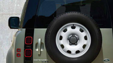 2019 Land Rover Defender spare wheel