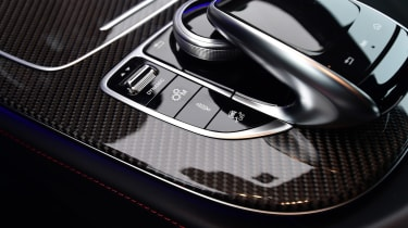 Mercedes-AMG CLS 53 - infotainment controls