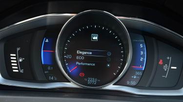 Volvo S60 TFT display