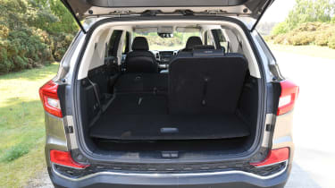 SsangYong Rexton long term boot space