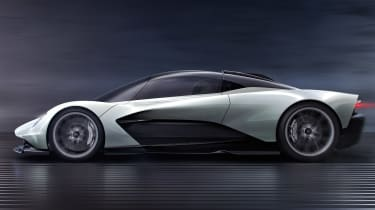 Aston Martin 003 concept - side action