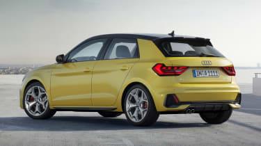 New Audi A1 - rear