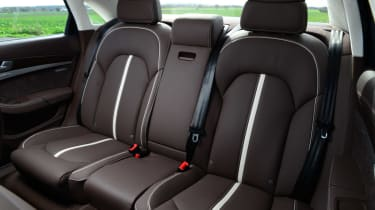 Audi A8 saloon 2014 interior rear
