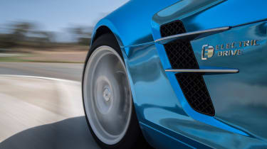 Mercedes SLS AMG Electric Drive wheels