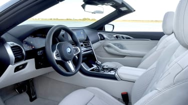 BMW 8 Series Convertible - front seats