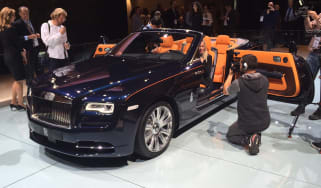 New Rolls-Royce Dawn convertible at Frankfurt