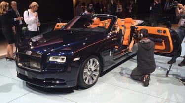 New Rolls-Royce Dawn convertible at Frankfurt