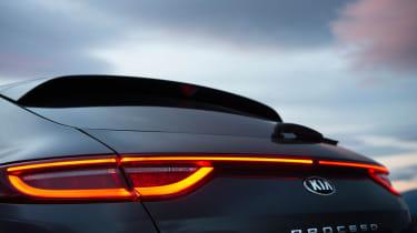 Kia Proceed - rear lights